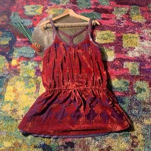 💫free people vintage velvet dress💫
